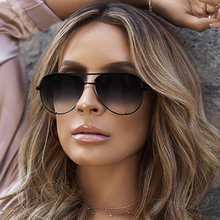 FEISHINI Trendy Silver Mirror Metal Sun Glasses Men Brand Designer Pilot Sunglasses Women Shades Top Fashion Eyewear 2019