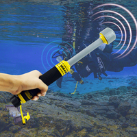 Underwater Metal Detector Pi iking 740 30m Targeting Pinpointer Pulse Induction металлоискатель for Diving Treasure Detector