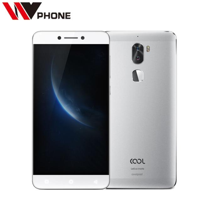 Original Coolpad cool 1 3G RAM 32G ROM LeEco Cool1 4G LTE Mobile Phone Android 6.0 5.5 Inch 4060mAh Dual Rear 13.0MP Fingerprint