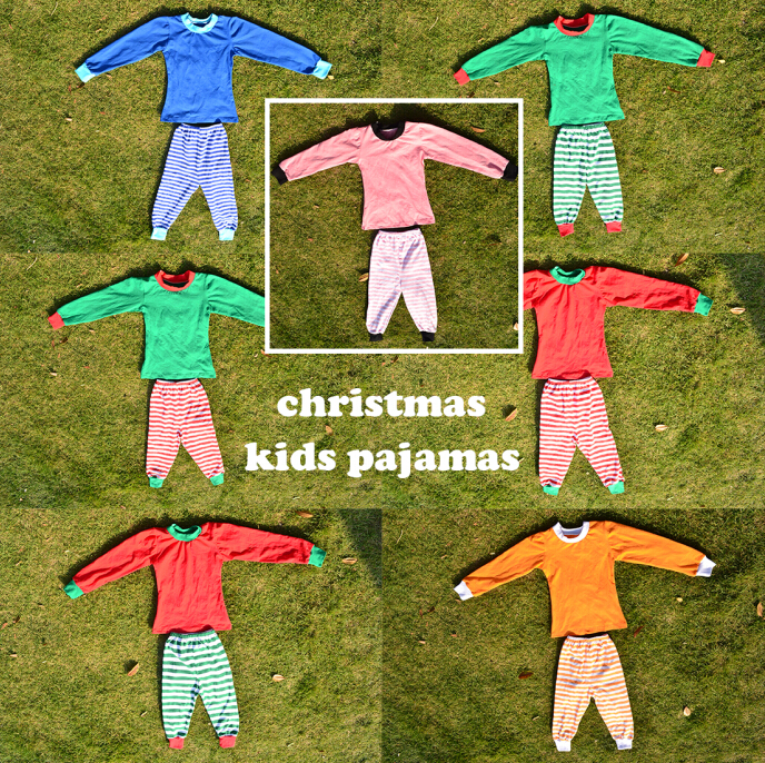 baby christmas sets sweety children pajamas toddler long sleeve many color to choose