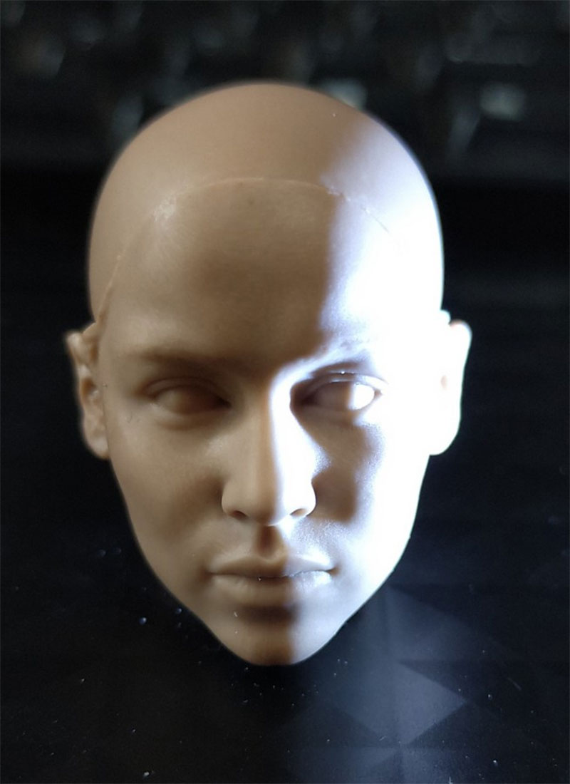1//6 Daenerys Targaryen Unpainted Head Sculpt for 12/'/' Female Body