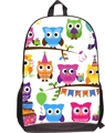 Fashion 3D owl Children School Bags Dolphin Cat Owls Dog Tiger Leopard Student Schoolbag for Boys Girls Bookbag Mochila