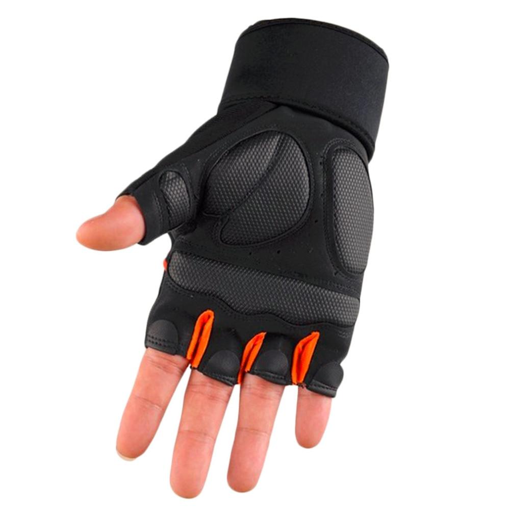 1 Pair Sports Gym Gloves Men Women Fitness Exercise Training Half Finger Body Workout Anti Slip Weightlifting Gloves