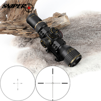 Tactical SNIPER VT 3 12X32 Compact First Focal Plane Hunting Rifle Scope Glass Etched Reticle Optical