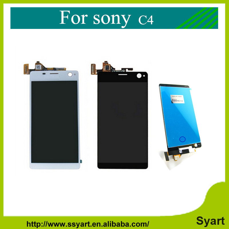 New For Sony Xperia C4 E5303 E5306 E5353 LCD Display Touch Screen Digitizer Assembly Adhesive tools