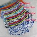 Mens U contorneada bolsa P002 impreso Floral de algodón spandex