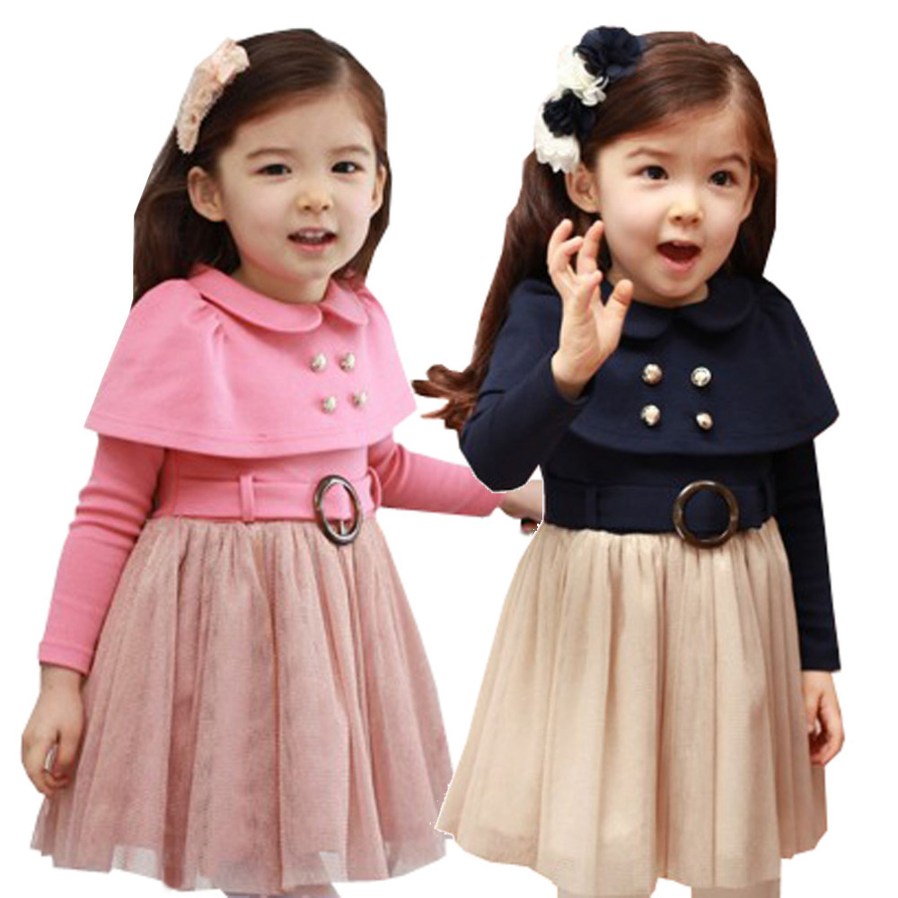 Little Girls Winter Dresses with Boots