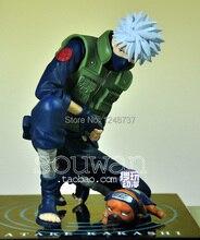Free Shipping Anime GEM Naruto Hatake Kakashi PVC Action Figure Collection Model Toy 14CM