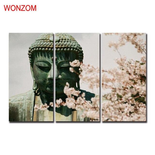 Vintage Bilder Weihnachten.Us 15 5 5 Off Winterblüte Buddha Gemälde Zen Dekorative Bilder Joss Wand Weihnachten Leinwand Bilder Für Wohnkultur Günstige Poster Vintage In