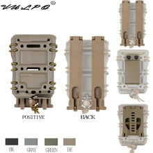 VULPO Tactical 5.56mm Magzine Pouch Carrier with Molle/Belt Fast Attach Millitary Molle Quick Release Single Holster