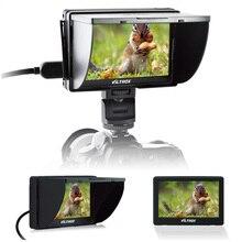 Viltrox DC-50 Portátil HD Clip-on LCD Monitor de 5 pulgadas de Visión Amplio HDMI Cable con Bolsa de Transporte para DSLR cámara DV