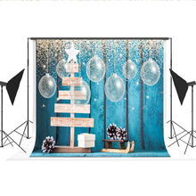 Kate Merry Christmas Decoration Backdrop for Photography Cotton Bokeh Lantern Achtergrond Voor Fotoshoot Background for Studio