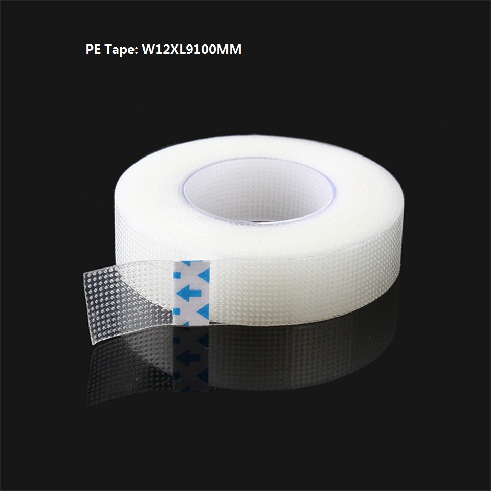 6 Rolls Pack Medical Adhesive Tape eyelash eyelash glue non woven PE tape Eyelash Patch under eye pads lash extension supplies in False Eyelashes from Beauty Health