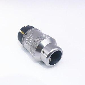 Image 2 - Par de krell de alta qualidade banhados à ouro, tomada de energia cei, conector de áudio hi end, cabo de energia ac, para audiofil cabo de rede diy