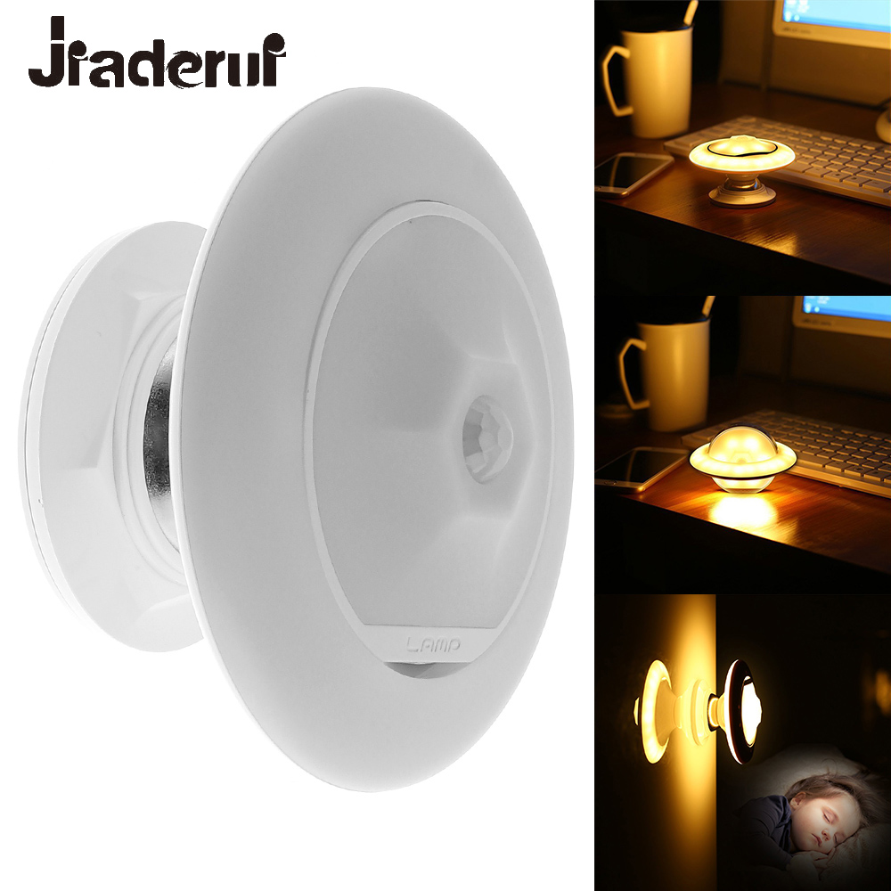 Jiaderui Novelty Table Lamps LED Night Light 360 degrees Rotate Baby Nursery Desk Night Lamp for Kids Children Bedroom Lighting novelty led night light wireless remote control dimmable night lamp rgb kids children desk table lights usb 5v