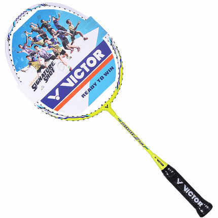 New Arrival Victor Js-7jr (3-12 years old) Js-001jr Js-002jr Tk-9000jr Children Kid Badminton Racket Young Raquette De Badminton