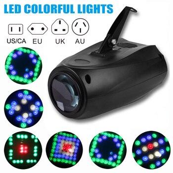 64 LEDs RGBW Tek Kafa Aktif için projektör ışık DJ Parti Düğün Olaylar Kulübü HG99