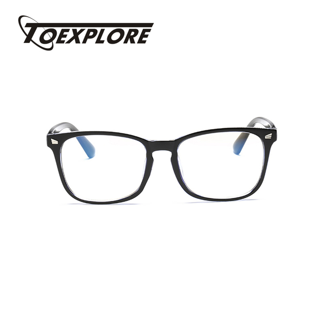7e8cc3ac75b8 TOEXPLORE Men Women Eyewear Frame For Myopia Without Lens Vintage Retro  Optical Frame Brand Designer Used For Reading Glasses