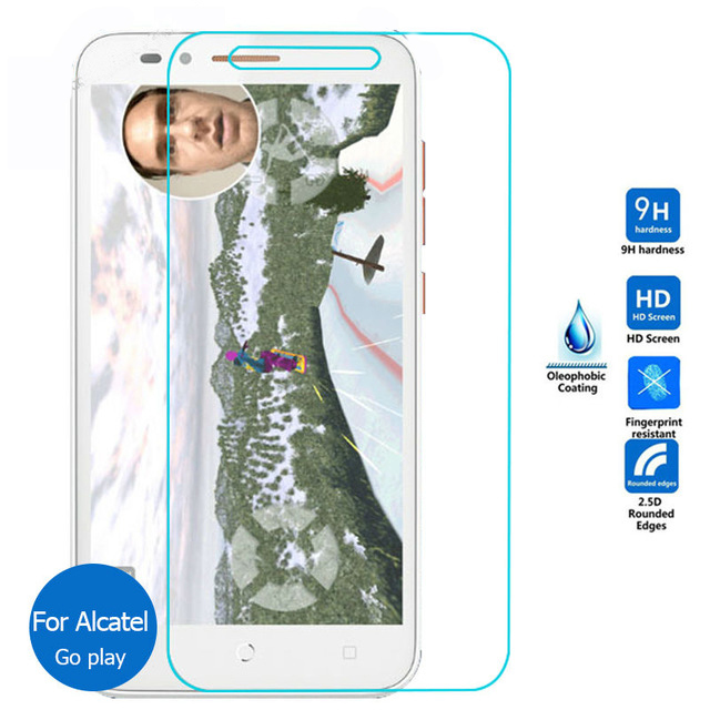 0.26mm Explosion-proof Front LCD Tempered Glass Film for Alcatel One Touch Go Play <font><b>7048X</b></font> Screen Protector pelicula de vidro image