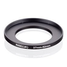 original RISE(UK) 37mm 52mm 37 52mm 37 to 52 Step Up Ring Filter Adapter black
