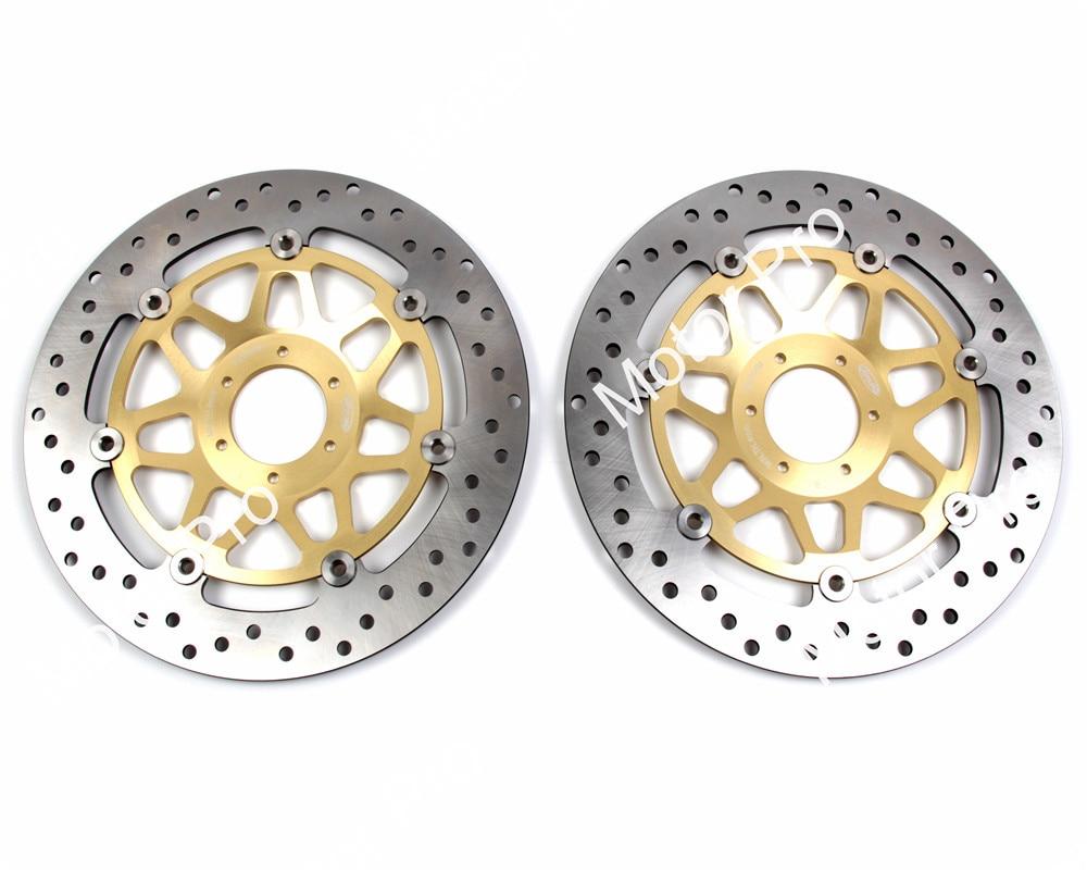 2 PCS CNC Front Brake Disc FOR HONDA CB N 400 1982 1983 1984 1985 1986 1987 1988 Floating Motorcycle brake disk Rotor CB400