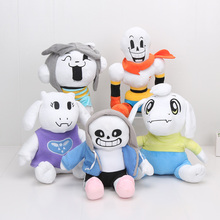 New Style Undertale Plush Toys 22-30cm Toriel Papyrus Sans soft stuffed dolls cute cartoon toys for Kids gifts