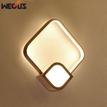 LED Wand Lampen AC85-265V Moderne Einfache Schlafzimmer Nacht Licht Indoor Küche Esszimmer Flur Wand Beleuchtung