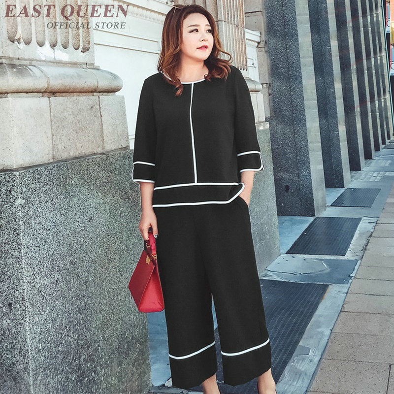 Summer outfits for woman casual loose new fashion clothing two piece set top and pants solid tops wide leg pants AA3772 Y A fashion 2018 mens stripe shirts and pants korea style two piece set loose v neck casual erkek giyim slim fit social club outfits