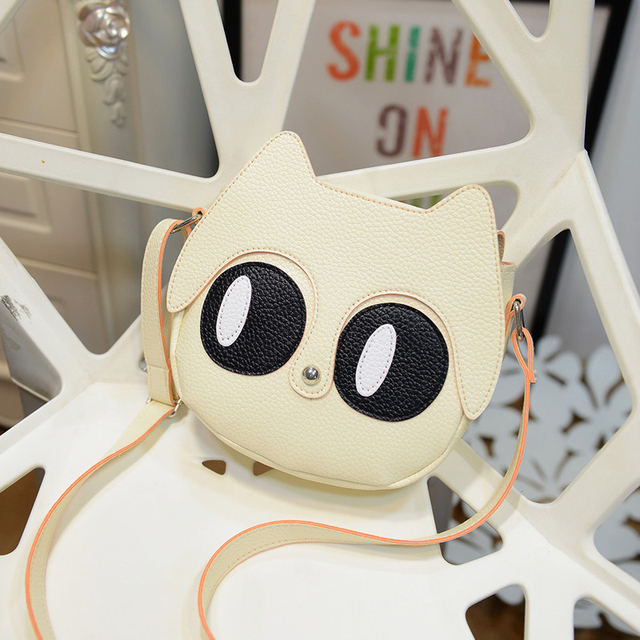 Girl Hand Bag Cute Handbag For Kids Leather Women Shoulder Bags Small Bag Girls Cute Fox Women Messenger Bags Bolsas