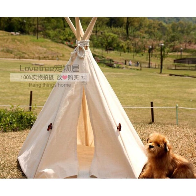 Pet Bed Teepee | Chic u0026 Trendy Small Dog play Tent | Cat Nap play Beds  sc 1 st  AliExpress.com & Pet Bed Teepee | Chic u0026 Trendy Small Dog play Tent | Cat Nap play ...