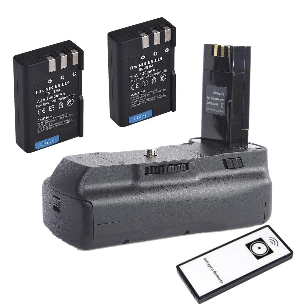 PowerTrust 2X 2400mAh EN-EL9 EN-EL9a EN EL9 EN EL9a Battery Dual USB Charger for Nikon ENEL9 D40 D60 D40X D5000 D3000 Digital Camera
