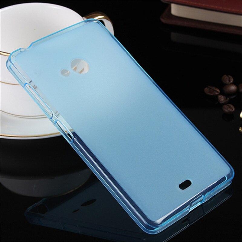 finest selection 08d10 3f3e5 US $1.68 15% OFF|Soft TPU Protector Case For Microsoft Lumia 540 Case  Silicon 5