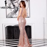 Missord 2016 Sexy Sleeveless Backless Dress FT6860
