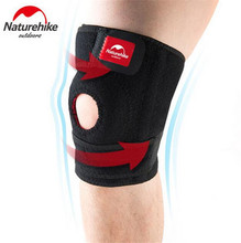 NatureHike 1Pcs Elastic Knee Support Pads Brace Kneepad Volleyball Basketball Safety Guard Strap Running Riding Left Right