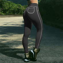 Push Up Workout Leggings With Pockets