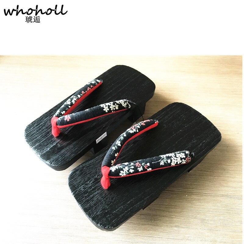 Madera 3 Mujeres 9 Whoholl 7 Japonés Chanclas 11 Cos 6 2 Zuecos Tacón Zapatos Dos 5 Mujer 1 Dientes 0 Geta 8 De Para Zapatillas 4 Sandalias EqSqr0U