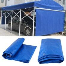 Открытый Автомобиль Холст палатка авто брезент багаж крышка холст ПВХ лист крыша навес водонепроницаемый пылезащитный брезент