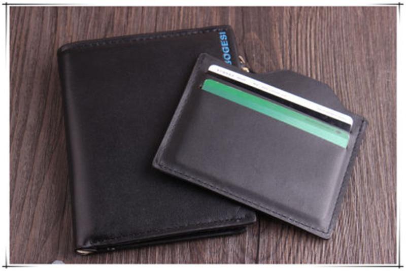 Men's Luxury Leather Bifold Soft Stylish Wallet Business Credit Card Holder UK