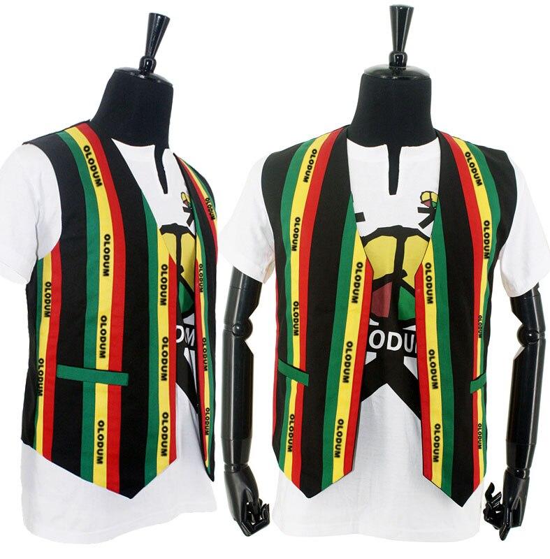Rare MJ Michael Jackson Olodum Brazil MV Retro Anti-war They Don't Care About Us Vest Tshirt For Peace