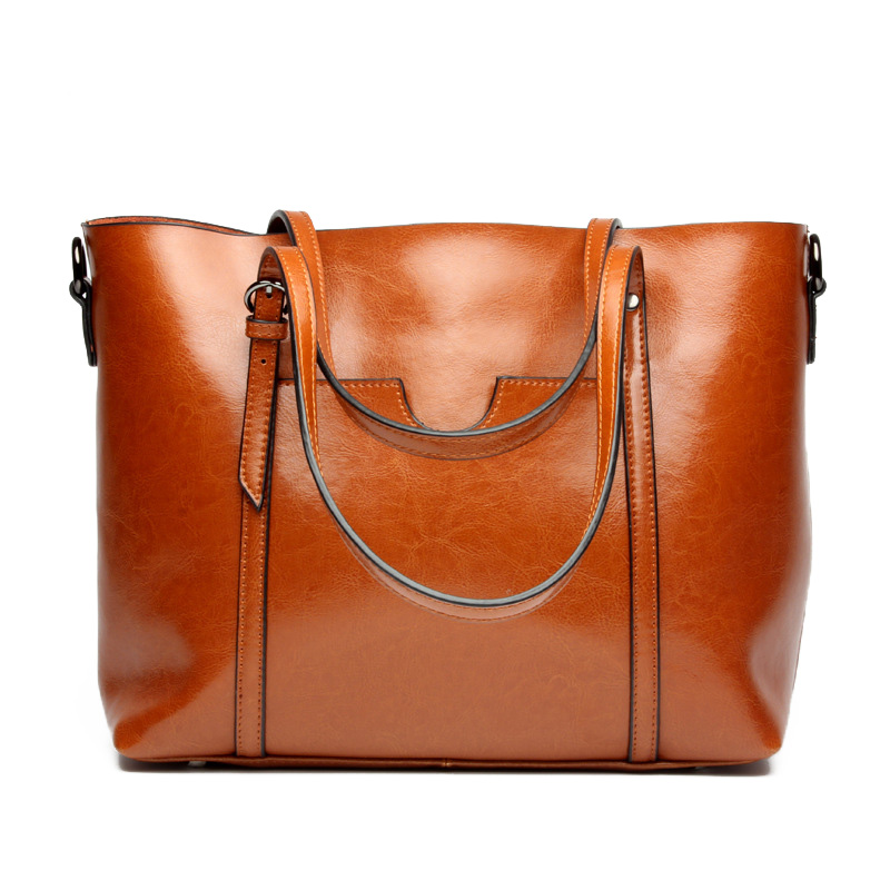 Women Genuine Leather Shoulder Bags 2017 New Brand Big Tote Bags Ladies Luxury Designer large capacity Handbags Fashion Bolsa zackrita genuine leather luxury handbags women bags designer new 2017 large solid tote bag ladies bolsa sac a main bolsos b80