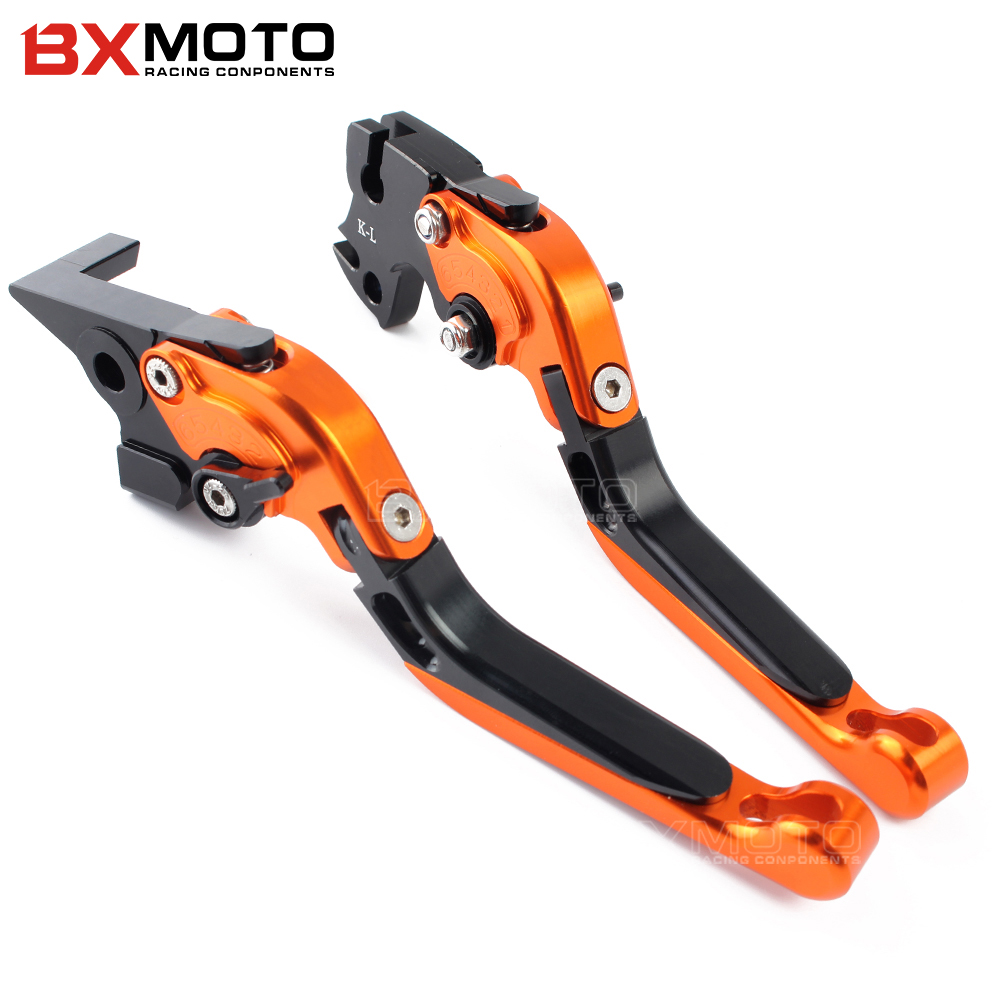Motorcycle Accessories parts Cnc Aluminum Brake Clutch Lever Set For Kawasaki Z1000 2007-2016 Z1000SX/NINJA 1000/TOURE 2011-2016 motorcycle accessories clutch brake lever for kawasaki zx9r zx10r z1000