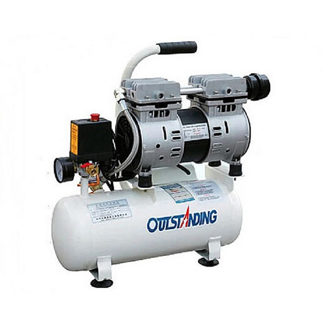 550W 8L Air Compressing Machine Air Compressor for OCA LCD Laminating Separating Film Machine