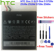 HTC Original Replacement Li-Polymer BJ83100 Battery For HTC One X G23 One S S720e Z520e Z520d S728e Z560e +Gift Tools +Stickers stylish sport armband for htc one x s720e black blue
