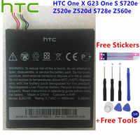 Reemplazo Original HTC li-polymer BJ83100 batería para HTC One X G23 One S S720e Z520e Z520d S728e Z560e + herramientas de regalo + pegatinas