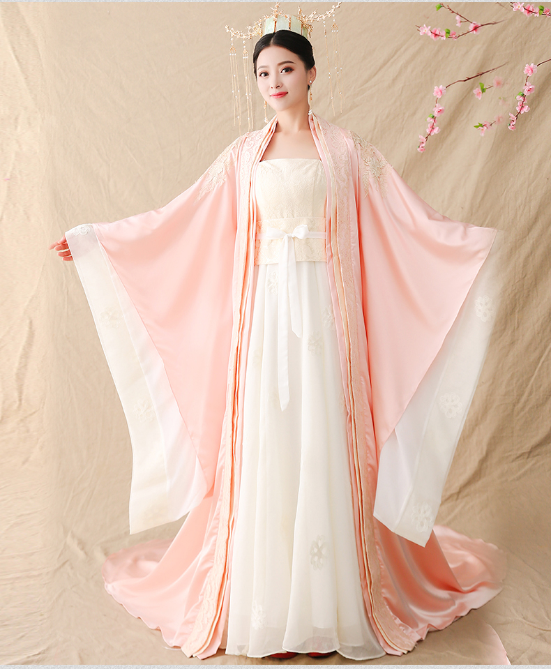 Woman Girls //Chinese Ancient Fairy Princess Dramaturgic Show Costume Robe Dress