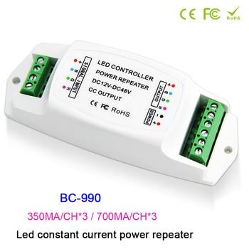 BC-990 RGB Strip Amplifier DC12V-48V Led Constant current PWM LED power repeater 350mA LED PWM amplifier 700mA Power controller 5pcs cm6800 cm6800tx cm6800txip dip16 low start up current pfc pwm controller combo
