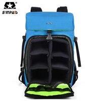SINPAID Leisure Travel Digital Photography Digital Waterproof SLR Camera Backpack Bag Case Shoulder Black Blue Yellow