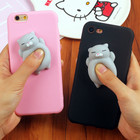 3D Squishy Case For iPhone 8 6 6s 7 7 Plus Lovely Cute Funny Animal Soft TPU Cover Cases For iPhone 8 Plus 6 Plus Protect Shell