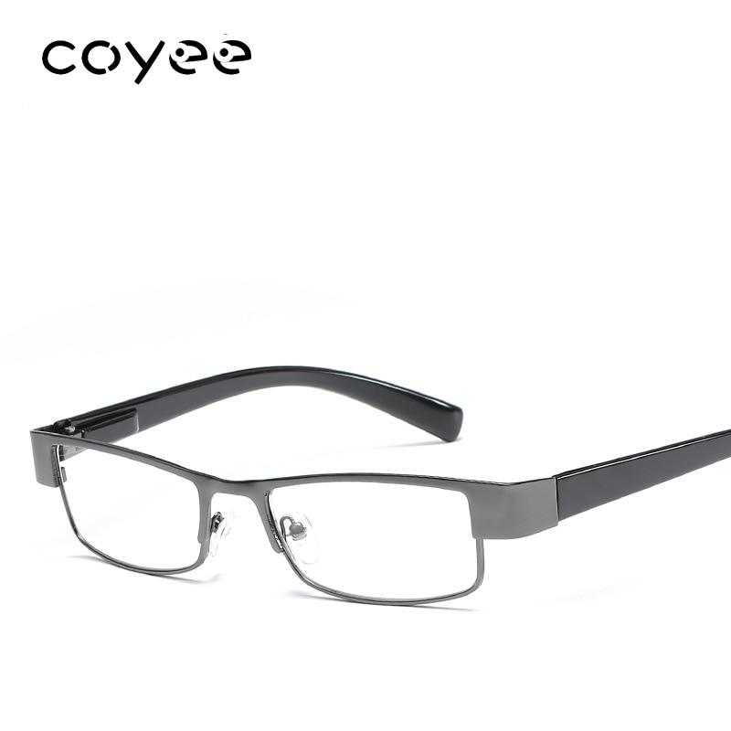 Coyee Full-rim Square Reading glasses for women men reader Presbyopic +1.0 +1.50 +2.0 +2.5 +3.0 +3.5 +4.0 diopter