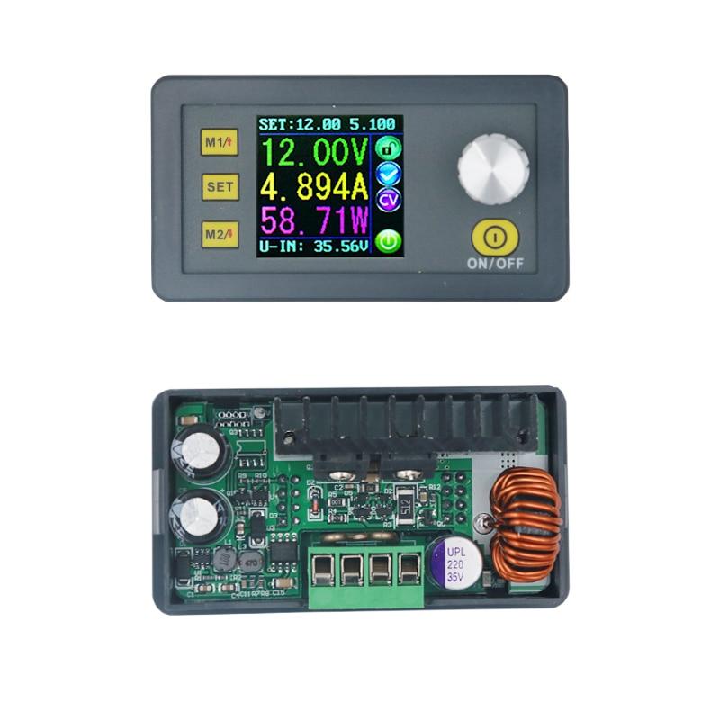 Step-down Programmable Battery Power Supply Module Constant DP30V5A voltmeter Ammeter tester Current voltmeter meter  9%OFF dp50v2a buck adjustable dc power supply module with integrated voltmeter ammeter color display